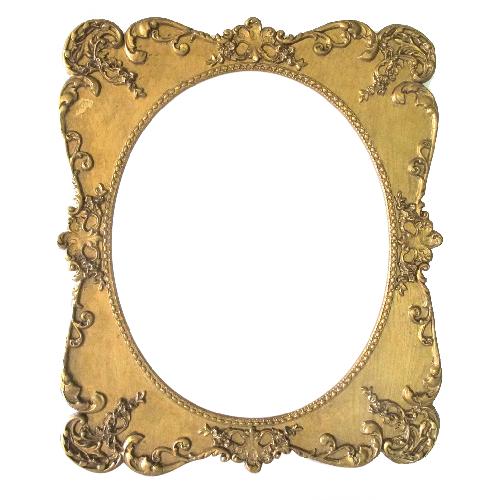 Large antique oval picture frame ornate wood gesso from - Large antique picture frames ...