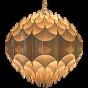Rythmic Ceiling Lamp Havlova Milanda Vest Austria Mid Century Modern Pendant Light