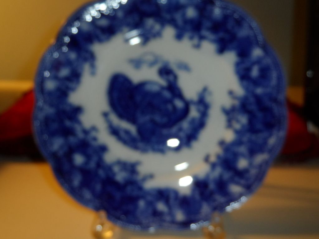 "Turkey plate by Wedgwood   10""  Clytie"