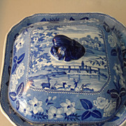British Scenery Series/Staffordshire Covered Dish
