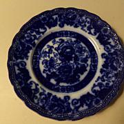 Flow Blue Plate - Verona