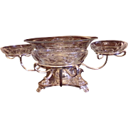 English Silverplate Centerpiece or Serving Piece