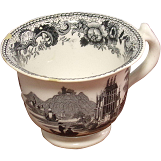 Staffordshire Custard Cup
