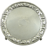 Ornate Sterling Silver Salver by Kirk & Sons