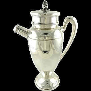 Antique Sterling Silver Redlich & Co Cocktail Shaker