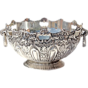Vintage Silver Plated Handled Bowl