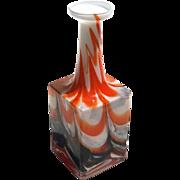 Vintage Mid-Century Murano Art Glass Vase, Circa 1950