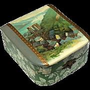 Victorian Celluloid Dresser Box, Circa 1875
