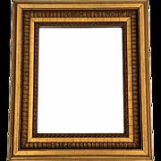 Vintage Giltwood Framed Beveled Mirror