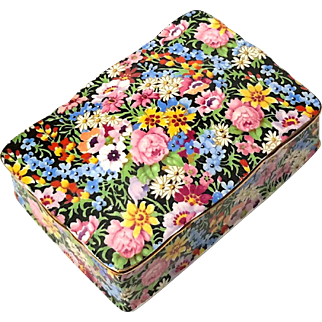 Vintage Royal Winton Balmoral Chintz Candy Box