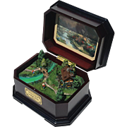 Thomas Kinkade Lamplight Bridge Music Box