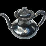 19th Century Victorian Reed & Barton Silverplated Teapot