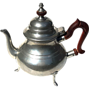 Vintage Stieff Pewter Williamsburg Teapot