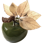 Early Vintage Chinese Jade Apple