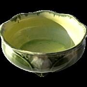 19th Century Majolica Pottery Bowl