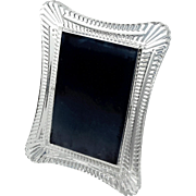 Signed Waterford Wellesley Crystal Picture Frame