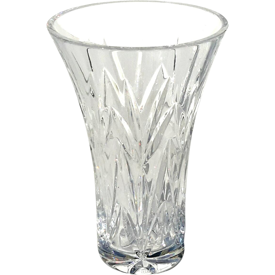Decorative Glass Vases Signed Waterford Crystal Vase From Stephenakramer On Ruby Lane