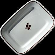 19th Century Alfred Meakin Tea Leaf Ironstone Platter