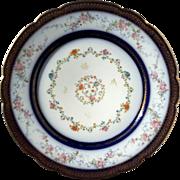 Antique French Haviland Limoges Porcelain Plate