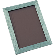 "Italian Tizo Teal Burl Wood 5"" x 7"" Photo Frame"