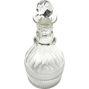 19th Century Cut Crystal Liquor Decanter