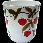 Mid-Century Vintage Italian Glazed Pottery Jardiniere