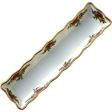Vintage Royal Albert Old Country Roses Cracker Tray