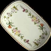 Wedgwood Bone China Mirabelle Pattern Soap Dish