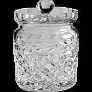 Waterford Crystal Glandore Pattern Biscuit Barrel