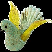 Vintage Italian Venetian Murano Glass Dove