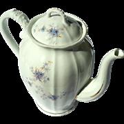 Antique Austrian Karlsbad Porcelain Teapot, Circa 1900