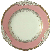 Antique Coalport Dinner Plate For Tiffany & Co