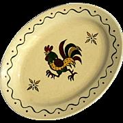 Vintage Poppytrail Vernon Platter In California Provincial By Metlox