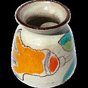 Vintage Mid-Century Modern Signed Italian Desimone Pottery Vase