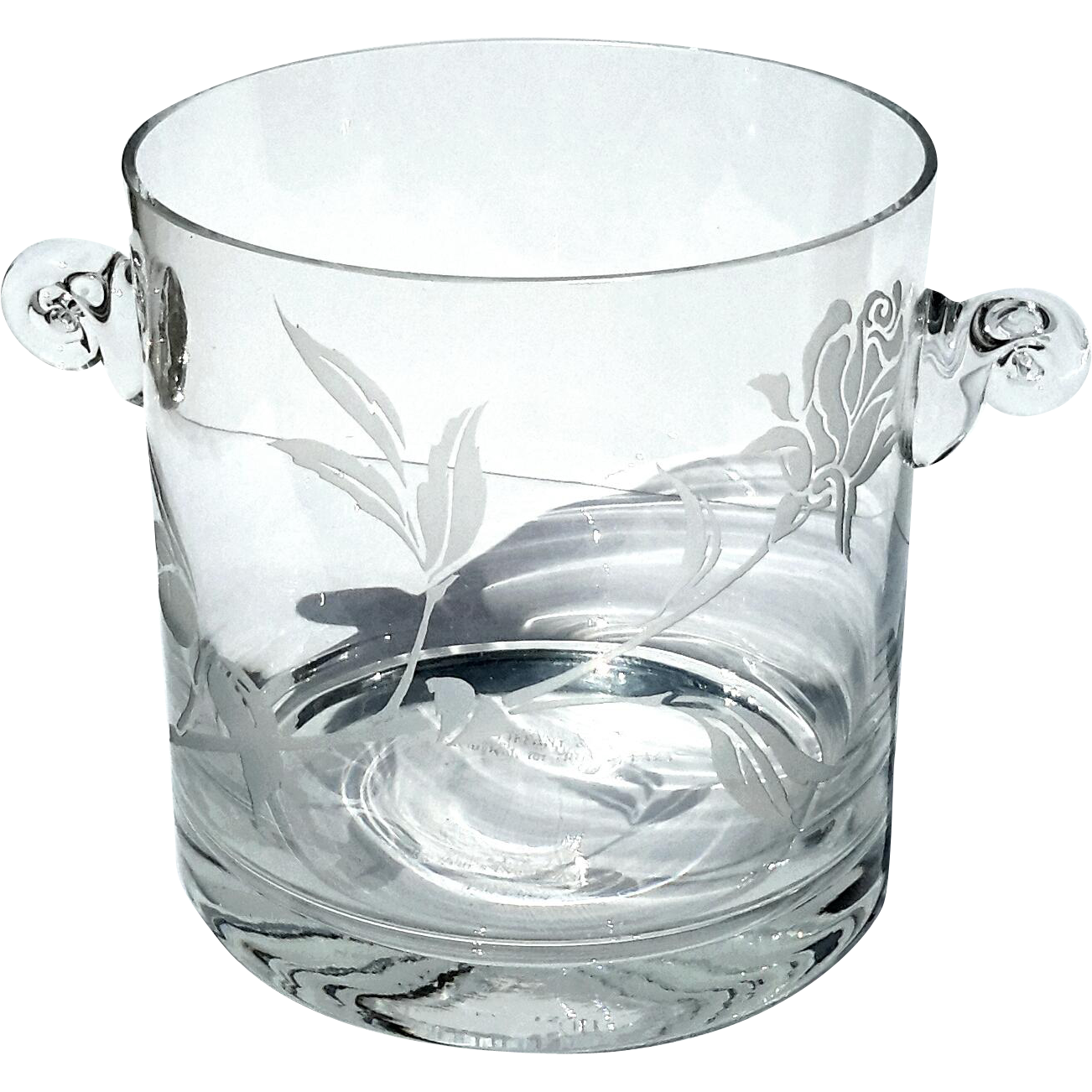 Tiffany & Co Crystal Wine Champagne Cooler