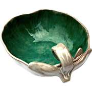 Vintage Stangl Pottery Peach Bowl