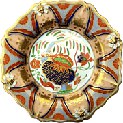 Early 19th Century English Imari Colored Plate
