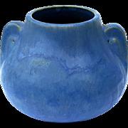 Vintage Brush McCoy Matte Blue Vase