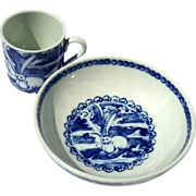 Mottahedeh Lucky Hare Child's Cup And Bowl Set