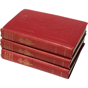Antique Three Volume Set Titled, 'Letters Of Queen Victoria 1837:1861', Published 1908
