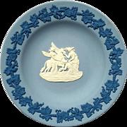 Vintage Wedgwood Jasperware Dish In Original Box