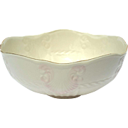 Vintage Belleek Porcelain Georgian Shell Bowl