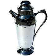 Vintage Chrome Cocktail Drink Shaker