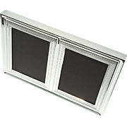 Silverplated Double Picture Frame By Vera Wang