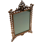 Large Victorian Copper Picture Frame