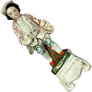 19th Century Staffordshire Pottery Figure