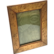 Antique Birdseye Maple Picture Frame