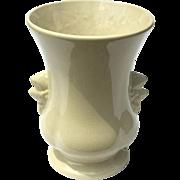 Mid-Century Vintage McCoy Pottery White Vase