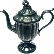 19th Century Victorian Silverplated Teapot