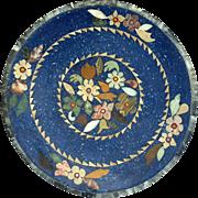 Italian Pietra Dura Lapis Low Bowl